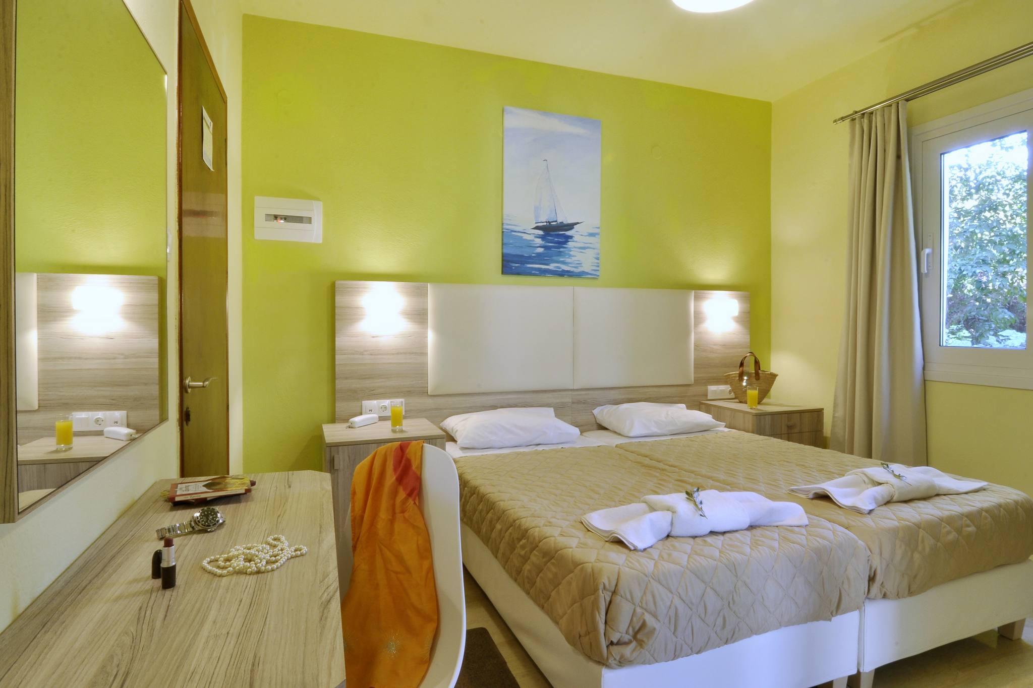 Hotel Orpheus Corfu Budget Twin Room 01