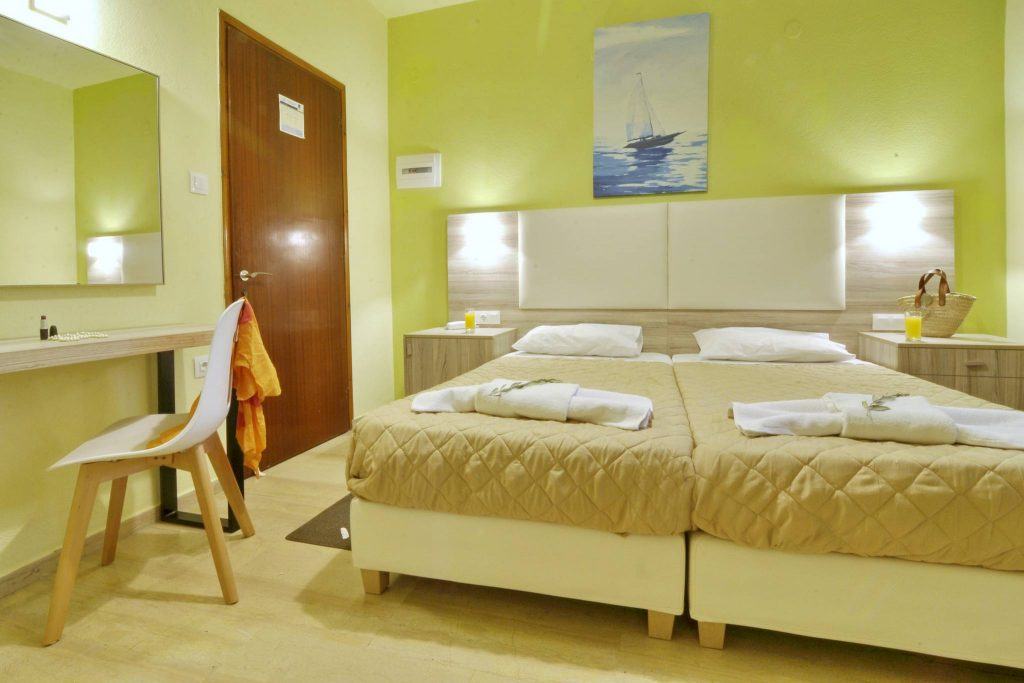 Hotel Orpheus Corfu Budget Twin Room 03