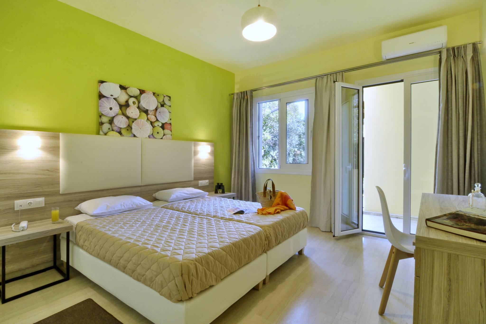 Hotel Orpheus Corfu Large Twin Room 01