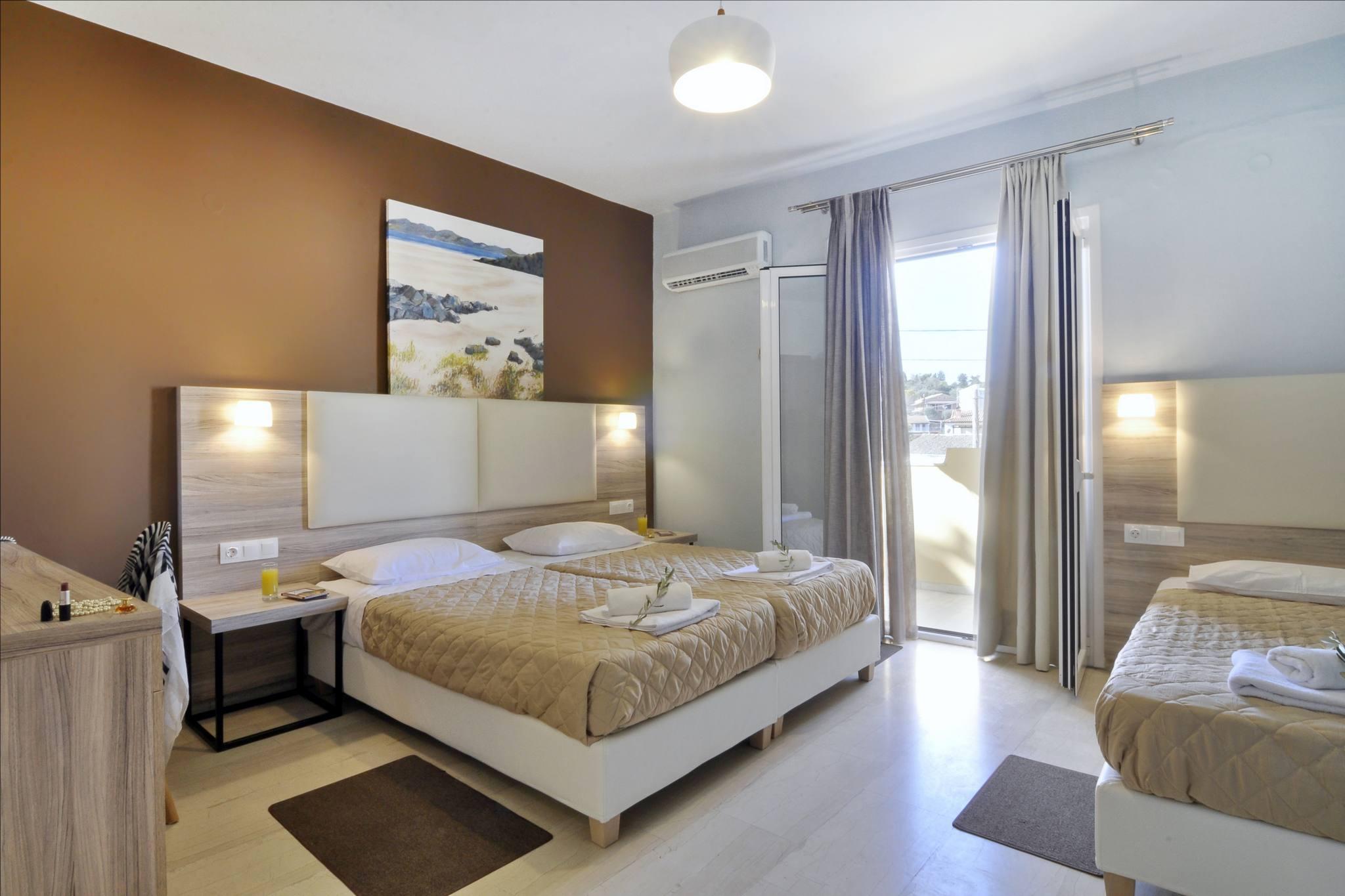 Hotel Orpheus Corfu Triple Room 01